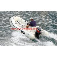 China rigid hull inflatable boat inflatable battery powered boat inflatable pontoon boat on sale