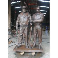 Wholesale Western Figure Statues Cast Bronze Sculpture Creative Life Size Garden from china suppliers