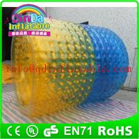 Wholesale QinDa Inflatable Water Games Inflatable Rolling Ball Walk On Water Roller from china suppliers