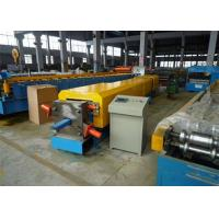 Quality 4kw Aluminium Gutter Roll Forming MachineWith Metal Sheet Bending Machine for sale