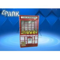 Wholesale Malaysia Crane Game Machine , Claw Toy Game 1100*W1150*H2140 mm from china suppliers