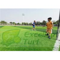 Buy cheap Apple Green Safe Artificial Grass For Professional Football Court from wholesalers