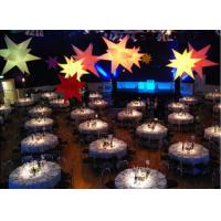China Beautiful Led Inflatable Star Oxford Cloth Lucky Star For Stage Lighting on sale