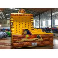 Wholesale Yellow Egypt Pyramid Theme Inflated Fun Games Inflatable Climbing Wall from china suppliers