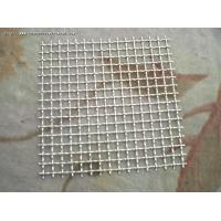 China Rust Resistant Crimped Wire Mesh Weaving Patterns 22 SWG Copper Bbq Grill Net on sale