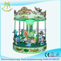 Wholesale Hansel coin operated kiddie rides carousel horse for family park from china suppliers