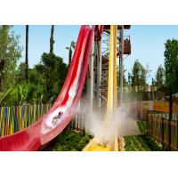 Durable Fiberglass High Speed Slide Amazing Water Parks Around The World Outdoor for sale