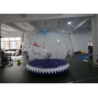 Wholesale Ornament Inflatable Snow Globe Tent For Holiday 3 Years Warranty from china suppliers