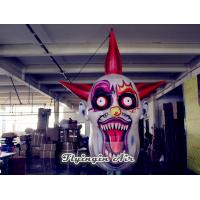 Wholesale Hanging Inflatable Ghoul Mask, Inflatable Ghoul Head for Halloween Party from china suppliers
