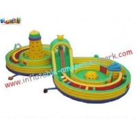 Quality Outdoor Small Children Inflatable Amusement Park for sale
