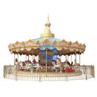 Hot Attractive factory price 32 seats carousel ride for sale