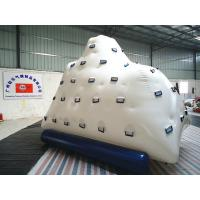 China Portable Amazing inflatable iceberg , inflatable rock wall for kids / adults Climbing games on sale