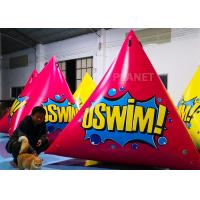 Wholesale Triangular Inflatable Marker Buoy With D Rings Customized Size from china suppliers