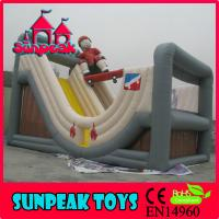 Wholesale SL-311 Kids Inflatable Slide Playground U-shaped slide from china suppliers