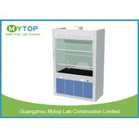 China Chemical Resistance Laboratory Fume Hood / Fume Cupboard Anti - Corrosion on sale