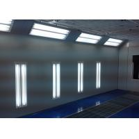 Wholesale 6.9M Water Curtain Paint Spray Booth , Commercial Paint Booth In Garage from china suppliers