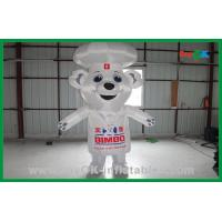 Wholesale White Custom Advertising Inflatable Bear Inflatable Cartoon Characters from china suppliers