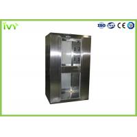 Wholesale Compact Structure Pass Box Air Shower Multiple Blowing Ways With Built In LED Light from china suppliers