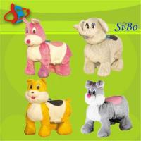 Wholesale GM59  Plush toy rides from china suppliers