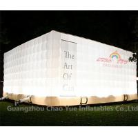 Wholesale LED Light Cube Inflatable Tent for outdoor event from china suppliers