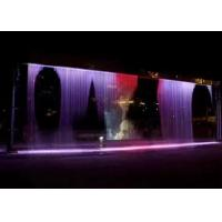 Wall Decorative Digital Water Curtain Fountain For Hotel Lobby Office And Home
