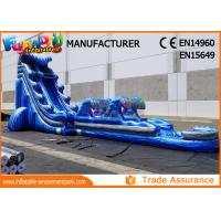 China Giant Outdoor Inflatable Water Slides For Kindergarten / Hotel / School on sale