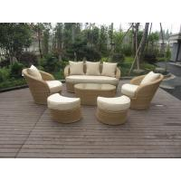 Wholesale garden rattan sofa set from china suppliers
