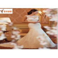 Wholesale The new 2016 lace fishtail wedding dress the bride bigger sizes customized small trailing cultivate one's morality dress from china suppliers