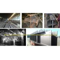 steel structure truss purlin of toll-gate gas filling station galvanized iron structure