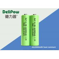 Wholesale 1.2V 2000mAh Rechargeable Nimh Aa Batteries For Household Appliances from china suppliers