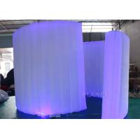 Wholesale Display Inflatable Photo Booth Wall 9.82 Ft Length AC 110 / 220 V Supply Voltage from china suppliers