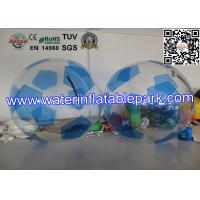 Wholesale PVC Inflatable Water Ball , Outdoor Inflatable Football with Fun from china suppliers