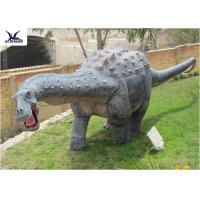 Buy cheap Playground Amusement Dinosaur Lawn Statue Decoration Robotic Life Size Dinosaur from wholesalers