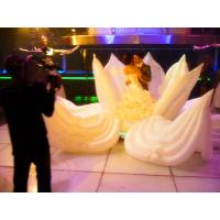 Wholesale 6m Inflatable Wedding Flower for Couple Inside from china suppliers