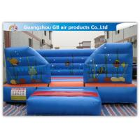 Wholesale Sea Ocean Theme Inflatable Bouncer , Inflatable Trampoline Castle For Kids Play from china suppliers