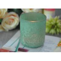 Wholesale Luxury Glass Candle Holders Beautiful Feather Painted Candle Holders For Decoration from china suppliers
