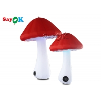 China Red 2m Oxford  Inflatable Mushroom Model For Advertising on sale