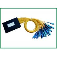 Wholesale 1x32 Fiber Optic PLC Splitter Pigtailed ABS Box With SC / UPC Connectors from china suppliers
