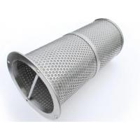 China 12 Inch 304 316 316L Stainless Steel Filter Mesh Tube Perforated Easily Formed on sale