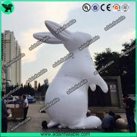 Buy cheap White Inflatable Rabbit,Inflatable Rabbit Cartoon,Event Inflatable Rabbit from wholesalers