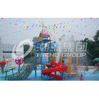 Promotion Kids Water Slides for Children Play Area / Equipment Floor Space 9.5*6.5m