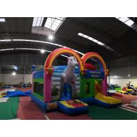 Unicorn Magic Obstacle Jumping Bouncer Obstacle Course Jump House SGS Approved