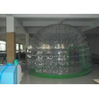 Wholesale 0.9mm PVC Inflatable Bubble Tent / Transparent Tents for advertising exhibition from china suppliers