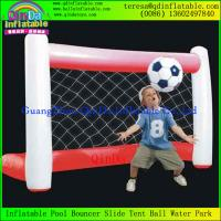 Wholesale High Quality For Sport Games Sports Flied Inflatable Football Gate Soccer Gates from china suppliers