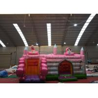 Wholesale Giant Princess Inflatable Castle Bounce House Waterproof Customized Design from china suppliers