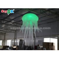 Wholesale 2 meter Inflatable Hanging Jellyfish Glowing with Blower for Home Bar Wedding Events from china suppliers