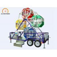 Wholesale 3 Kw Small Carnival Amusement Rides Portable Ferris Wheel With Trailer from china suppliers