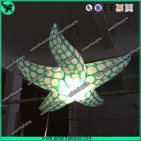 Wholesale Indoor Event Hanging Decoration Inflatable Character/Inflatable Starfish With LED Light from china suppliers
