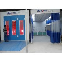 Wholesale Rent SUV Infrared Heating Spray Systems Paint Booth , Large Spray Booth from china suppliers