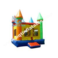 Buy cheap Inflatable standard bouncer,PVC Tarpaulin colourful bouncer,Moonwalk for kid from wholesalers